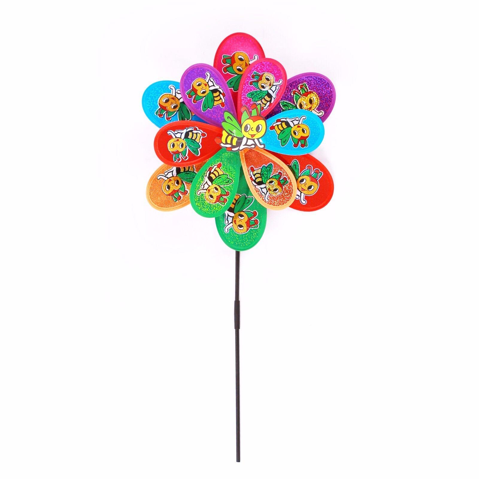 Windrad Blume Windmühle Deko Dekoration Kinder Frühling Garten Gartendekoration
