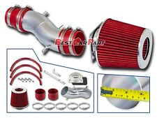 BCP RED For 91-99 Sentra 200SX G20 Short Ram Air Intake Induction Kit + Filter
