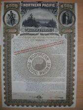 Northern Pacific Railway Company  1896  500$