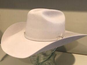 240 Bailey Hat Western Cowboy PRO 5X XXXXX Fur Felt Sz 7 1 8