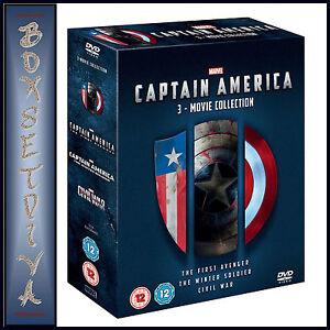CAPTAIN-AMERICA-MARVEL-3-MOVIE-COLLECTION-BRAND-NEW-DVD-BOXSET