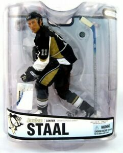 Nhl Sports Picks Series 18 Figurine Jordan Staal Maillot Noir
