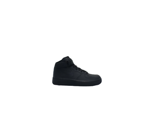 Scarpa-Nike-Air-Force-1-Mid-GS-Nero-Donna-Uomo-Sneakers-314195-004