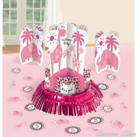 Pink Zoo 3 Piece It's A Girl Table Centerpiece Decorating Kit - 281131 Toys