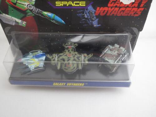 """Micro Machines  /""""Galaxy Voyagers Set 2/"""" RARITÄT Vintage Set von 1993!"""