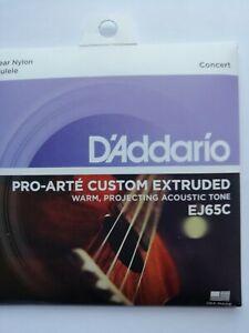 D-039-ADDARIO-PRO-ARTE-Custom-Extrude-ukulele-cordes-EJ65C