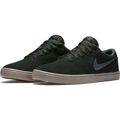 Nike SB Check Solarsoft Shoes Black Anthracite Gum