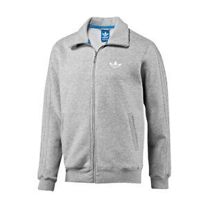 Adidas Originals Mens Spo Beckenbauer Track Top V33068 Grey Heather
