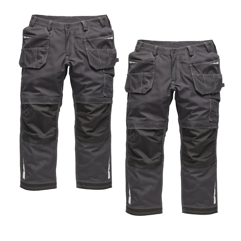 Dickies Eisenhower EXTREME Twin Pack Pantaloni da lavoro grigio (varie dimensioni)