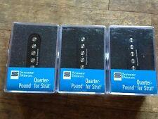 Seymour Duncan SSL-4 Quarter Pound Flat Pole For Stratocaster Pickup Set New