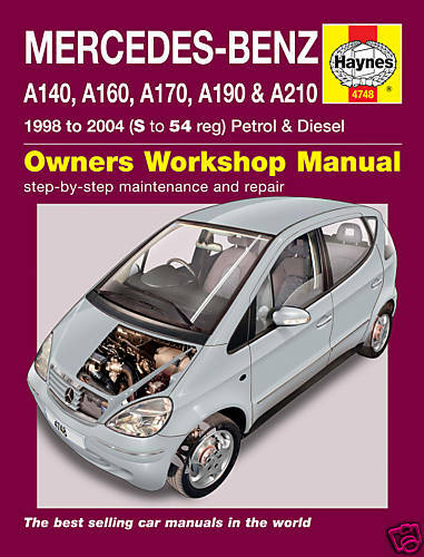 pdf of workshop manual for a class a160 manual