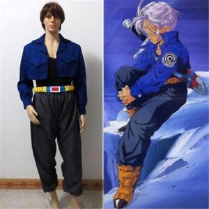 Dragon Ball Z Trunks Super Saiyan Torankusu Cosplay Costume