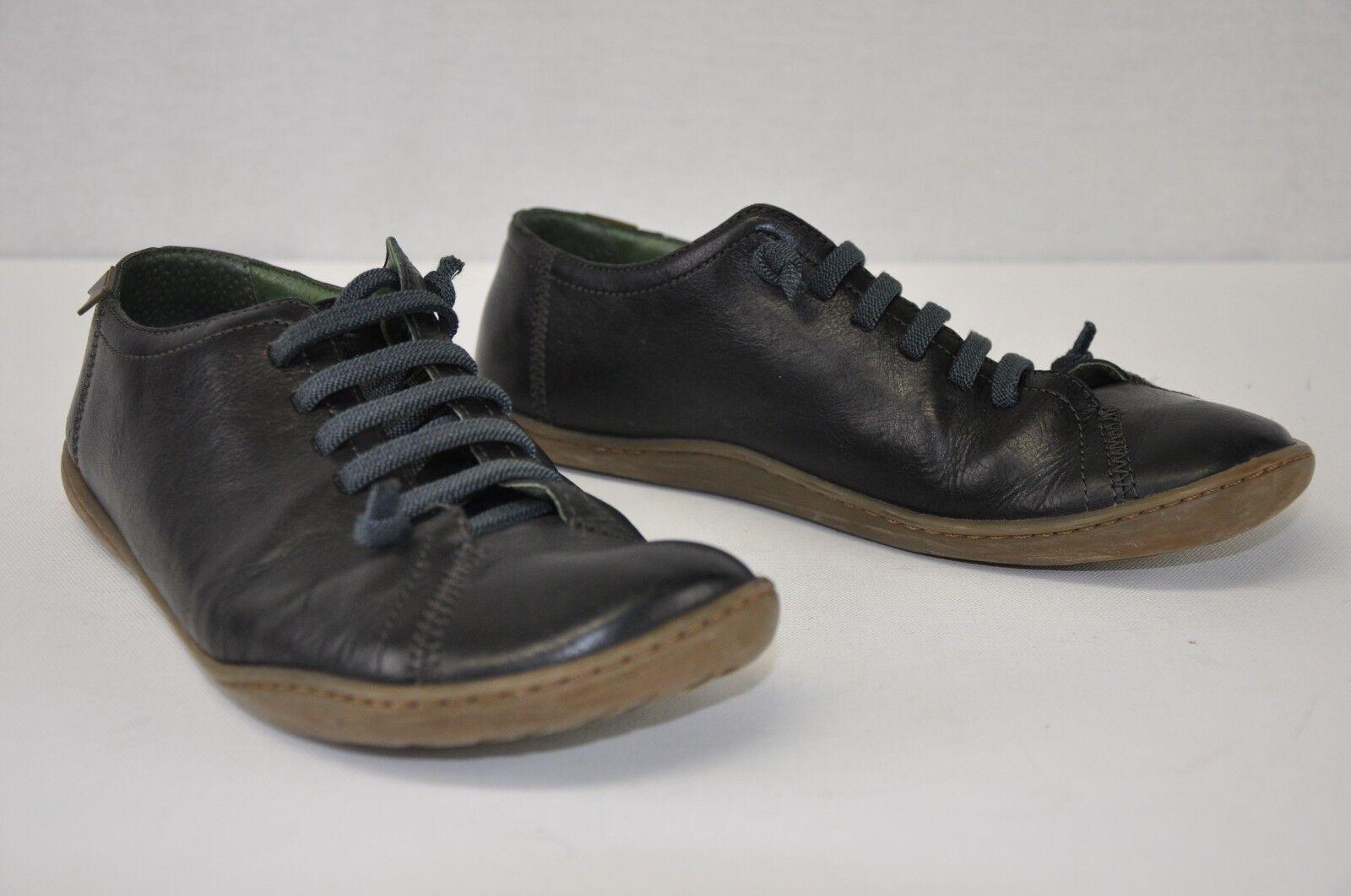 Remonte CAMPER nero Slip On Laces Stitch Detail scarpe da ginnastica EUR 40 US 9-9.5