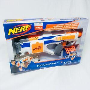 nerf exclusive n strike elite rayven motorized rapid fire dart gun