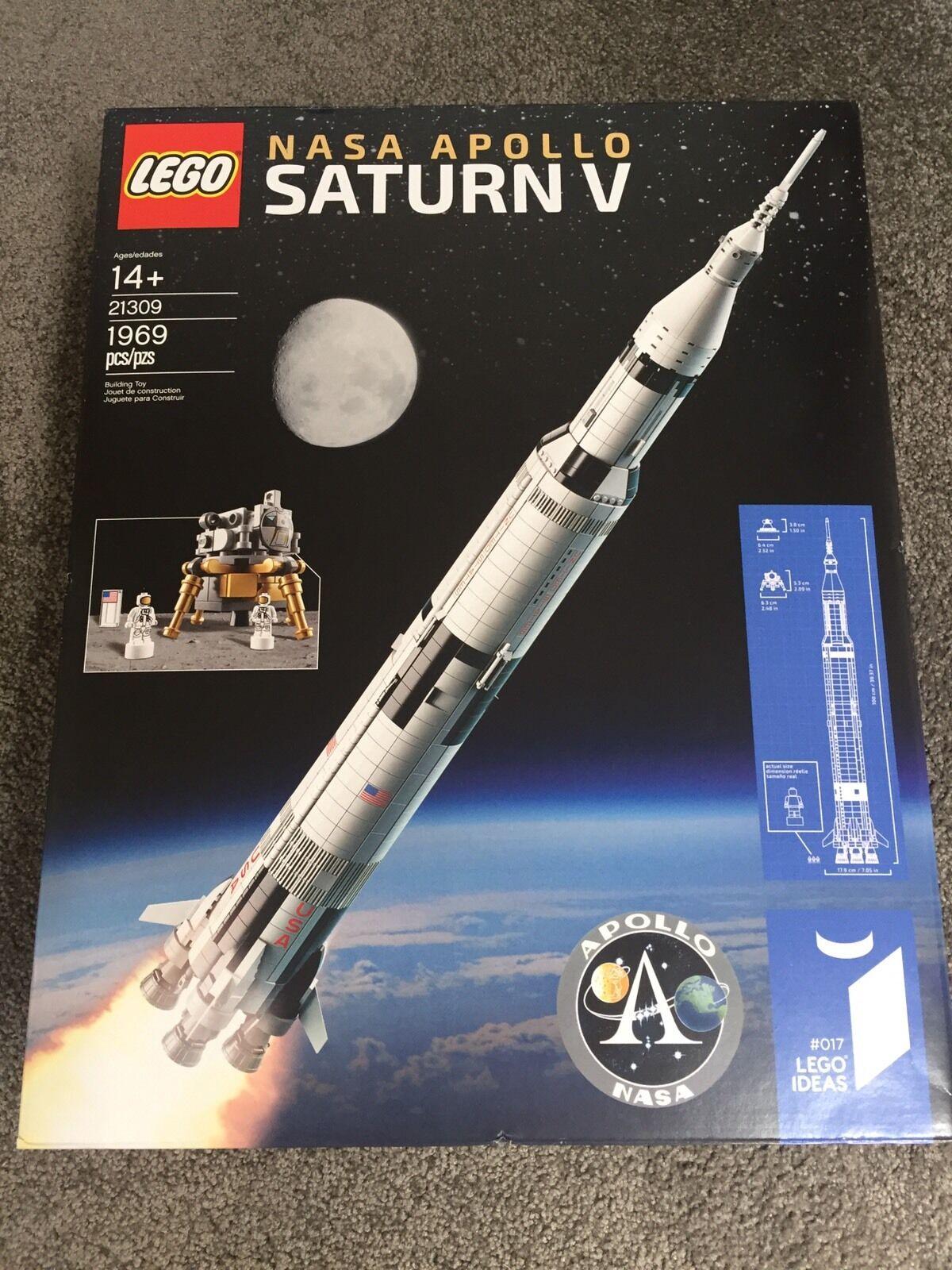 LEGO APOLLO SATURN V IDEAS SET 21309