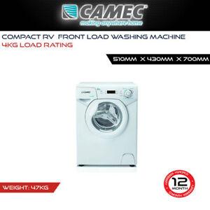 Camec Compact RV 4Kg Front Load Washing Machine Caravan Motorhome Accessories