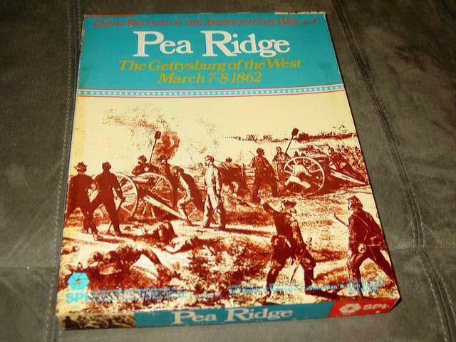 SPI - PEA RIDGE - Gettysburg of the West - March 7-8 1862 - Excellent Condition
