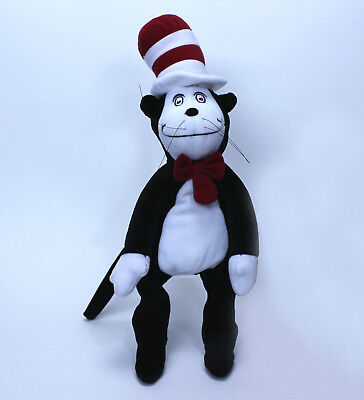 """Seuss Cat In the Hat 15/"""" Plush Toy Official Dr"""