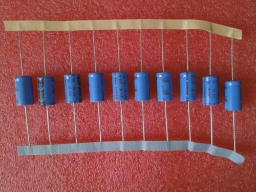 40V 220uF 10 x Alu-Elektrolytkondensator NEU 20/% MAL202127221E3