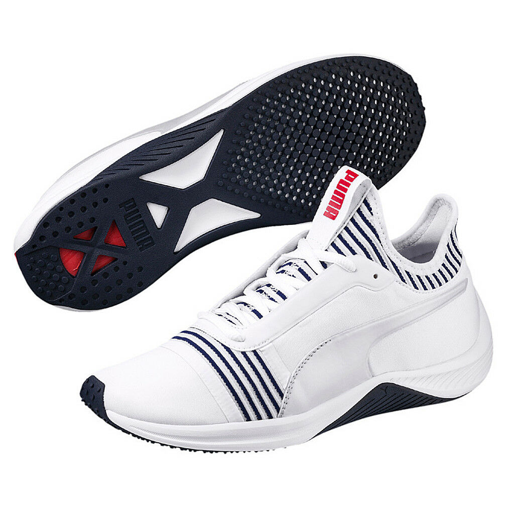 Zapatos promocionales para hombres y mujeres Puma Amp XT WNs Damen Sneaker Laufschuh Fitness weiss 191125 02