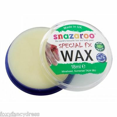 Snazaroo FX Special Effects18 ml or 75 ml Moulding WAX Scar Wounds Halloween