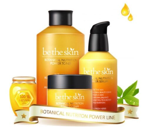 BE THE SKIN Botanical Nutrition Power Skin Care 3Pcs SET