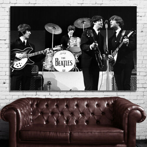 #06 Beatles Rock and Roll Music Musician Icon 40x60 inch More Sizes Large Poster