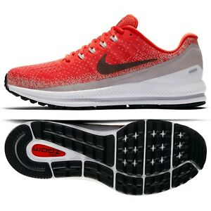 1aaeca0354a Details about Nike Air Zoom Vomero 13 922908-601 Habanero Red/Burgundy  Men's Running Shoes