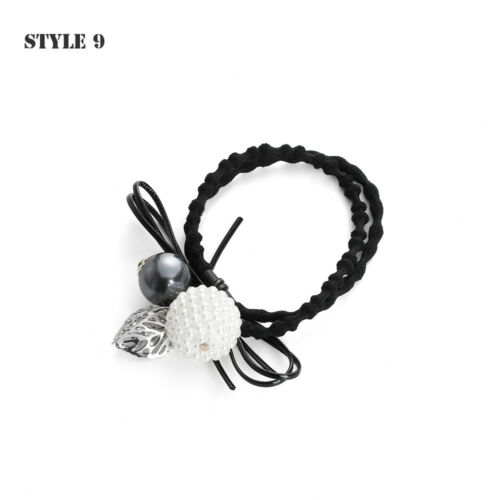 blume perlen haar seil crystal haarband mädchen mit elastischen bündchen