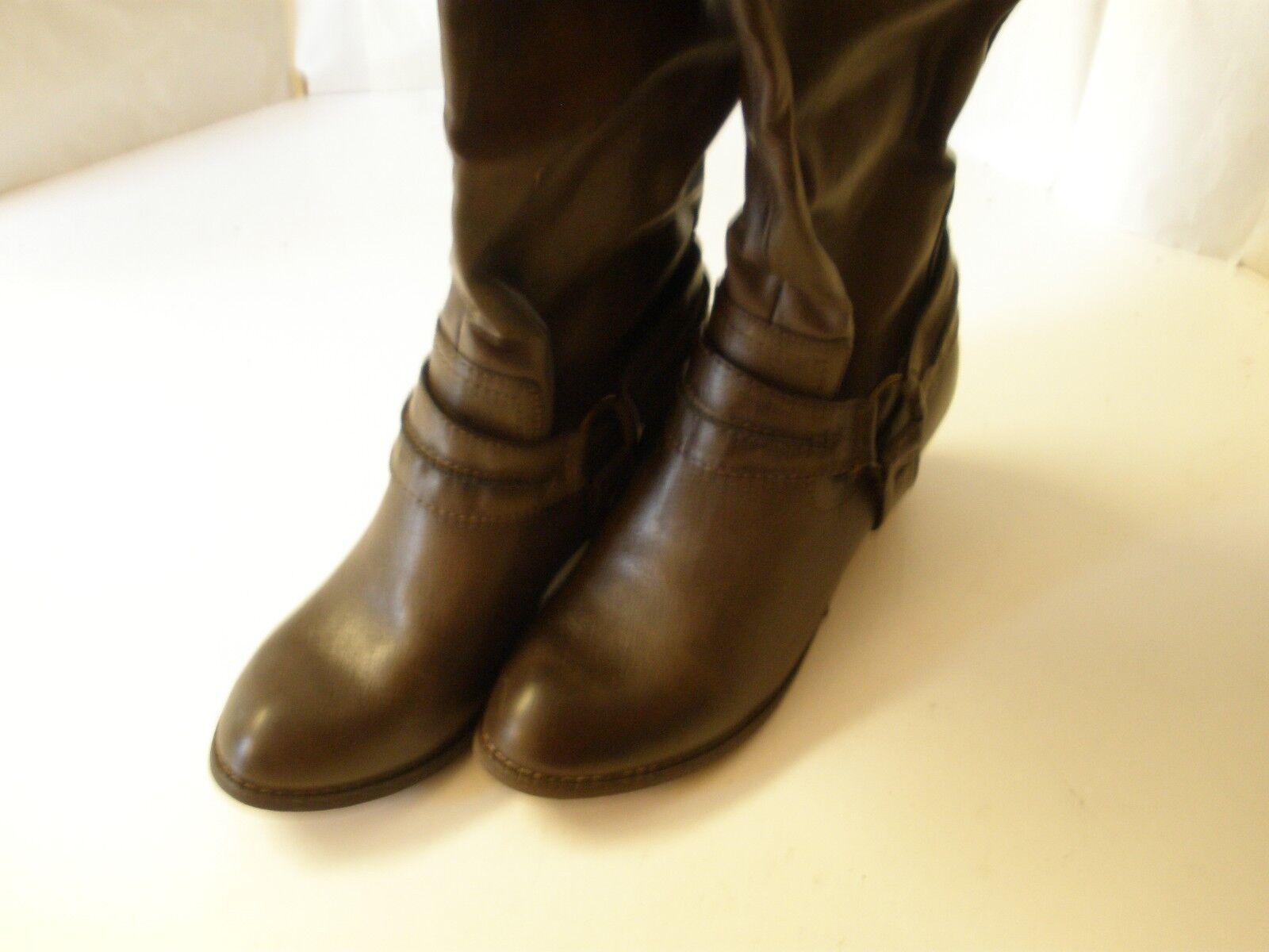 Rebels Palomino Brown 9  8 M New Boot Knee High