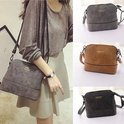 Women Lady Vintage Leather Satchel Crossbody Shoulder Bag Handbag Tote Bag New