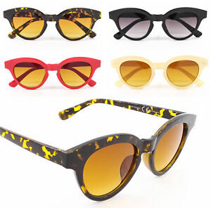 Haut-Femme-Rockabilly-50-s-60-s-retro-cadre-epais-Oeil-De-Chat-Style-Lunettes-De-Soleil