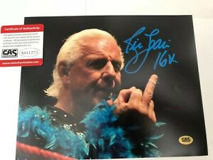 WWF-WWE-Rick-Flair-Signed-Wrestling-Photo-Comes-With-Registered-COA