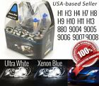 2x (1 pair) Xenon Headlight Halogen Bulb Replacement White 5500k or Blue 8000k
