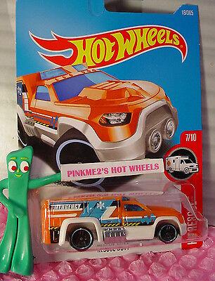 Case G//H 2015 i Hot Wheels SO PLOWED #6❊Orange//Blue;Green;White Tires❊HW Rescue