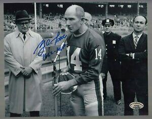Y-A-Tittle-Signed-Auto-B-amp-W-Giants-8x10-Photo-W-1962-MVP-SCH-Auth-27704-41
