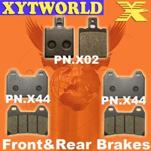 Front Rear Brake Pads for DUCATI 748 SP//Monoposto 1999-2002