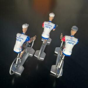 3-cyclistes-miniatures-Tour-de-france-Cycling-figure-FDJ-2019