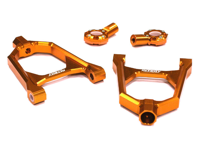 Integy T6883arancia Type II Front Upper Arm for HPI Baja 5B, 5T & 5B2.0