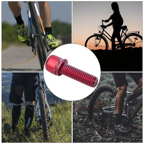 M5x18mm Bicycle Stem Screw Bolt with Spacer Bike Steering Handlebar Parts