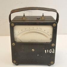 Vintage Weston Electrical Instrument Corp Dc 0 100 Fs 2 Mv Model 430