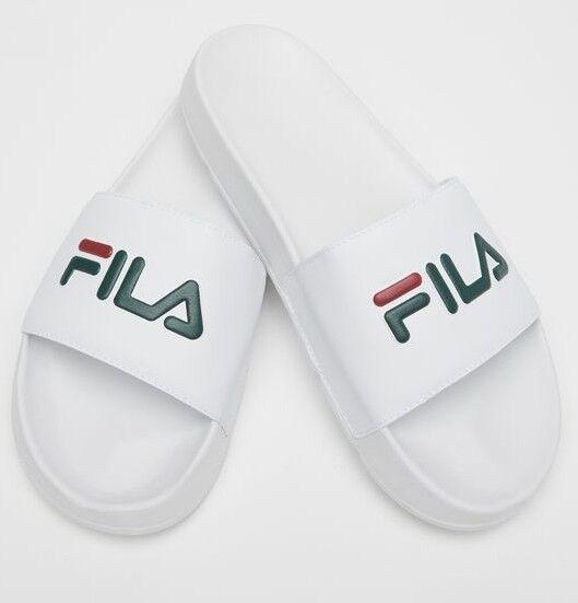 New Fila Heritage Drifter Pool Sliders - flip flops beach shoes sandal 157 green