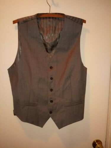 Mens Rossini Vest Grey Size 40S