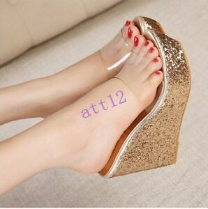 Womens-High-Wedge-Heel-Sandal-Slipper-Sandals-Transparent-Open-Toe-Loafer-Shoes