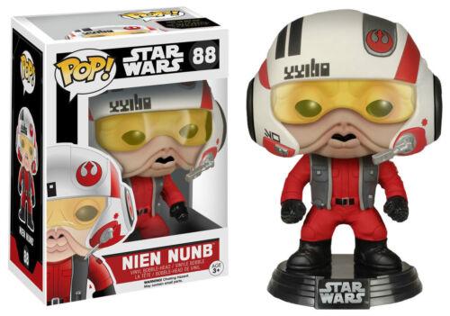"""Esclusivo Star Wars Nien nunb CON CASCO 3.75/"""" POP Figura in Vinile Funko"""
