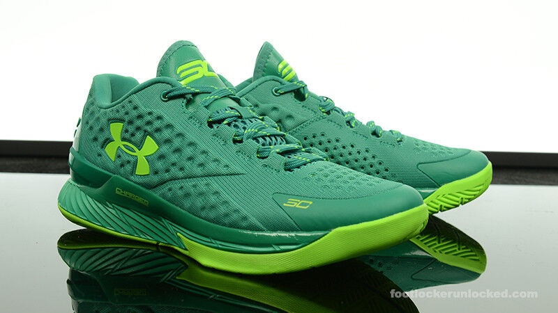 Under Armour Curry One Low 1 Scratch Green mvp batman splash party golf dub 11