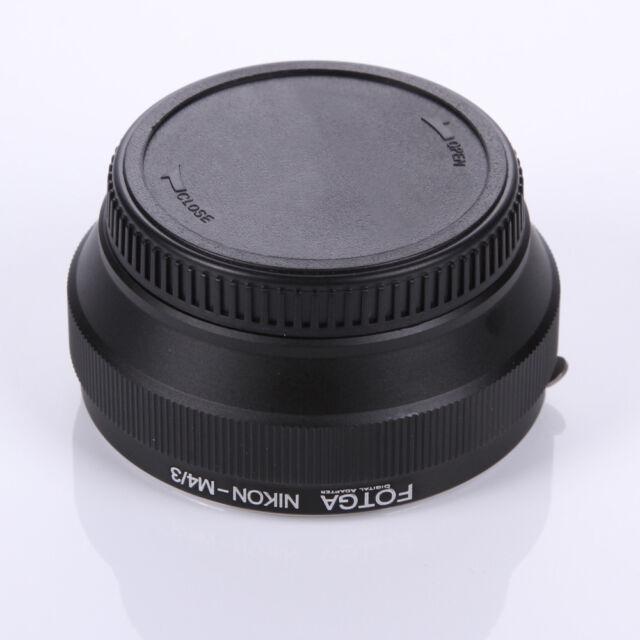 New!  FOTGA Nikon AI Lens to micro M43 4/3 GH1 E-P1 G1 LX100 GM1 GM5  EPL7 E-5M