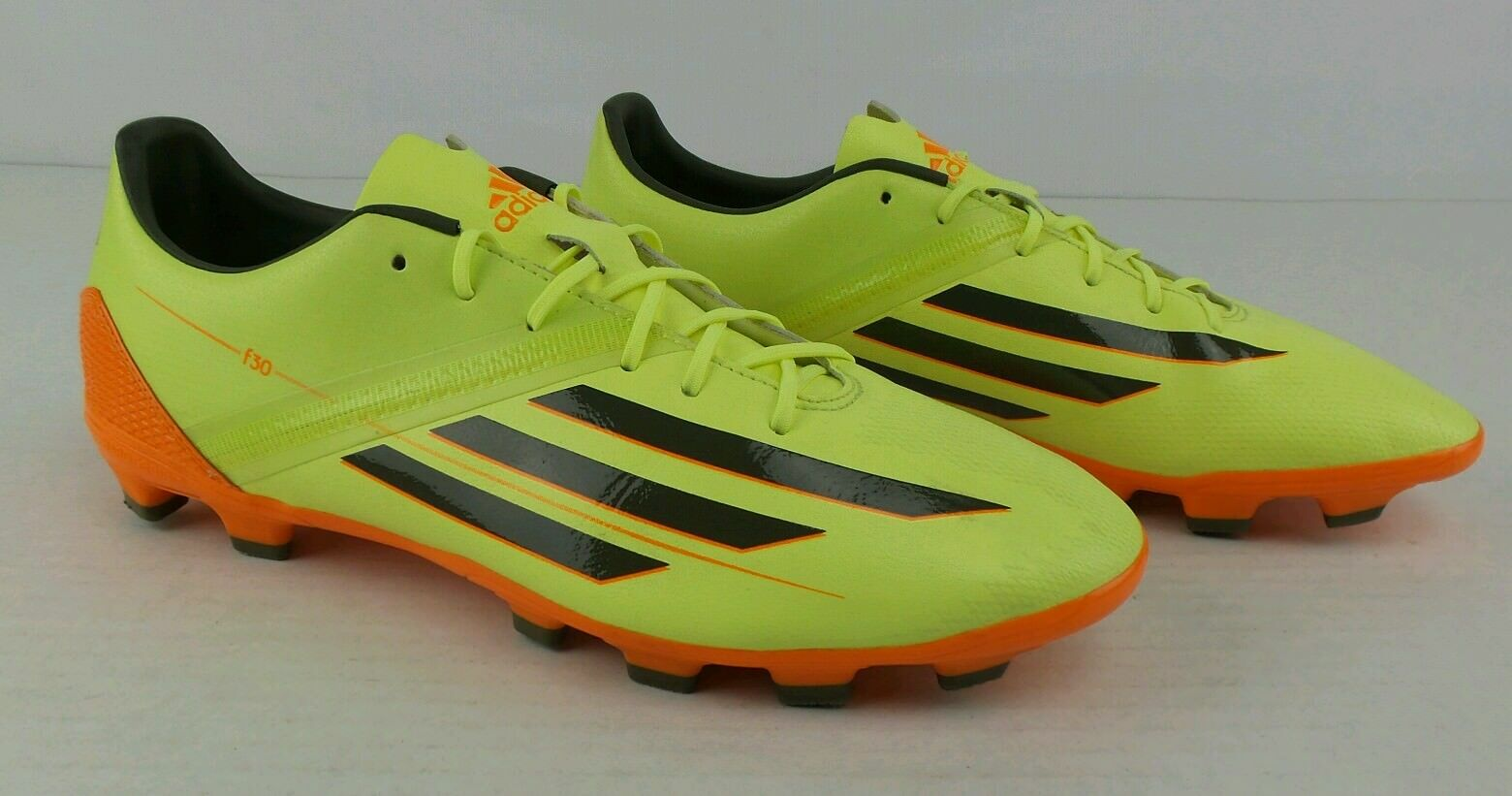 Authentic Adidas F30 TRXHG Glow Earth Green Solar Zest Soccer Cleats Size Mens 9