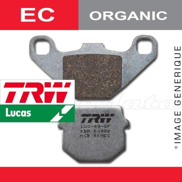 Plaquettes de frein Avant TRW Lucas MCB 735 EC pour Yamaha XT 125 R (7401) 05-