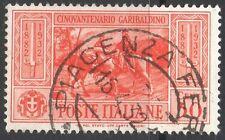 REGNO - NR. 318 - GIUSEPPE GARIBALDI - USATO - PERFETTO